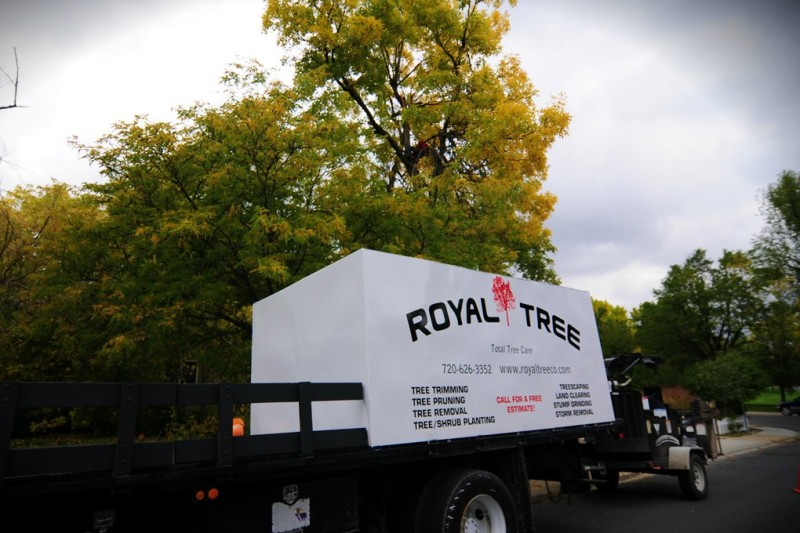 Royal Tree working truck